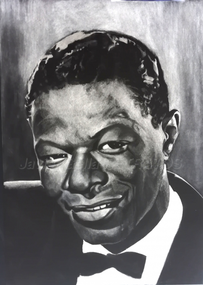 Nat King Cole by JumpingJack